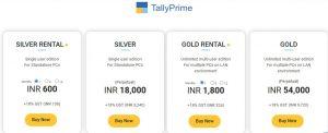 tally prime price